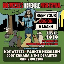 Koe Wetzel Announced Next Incredible Music Festival
