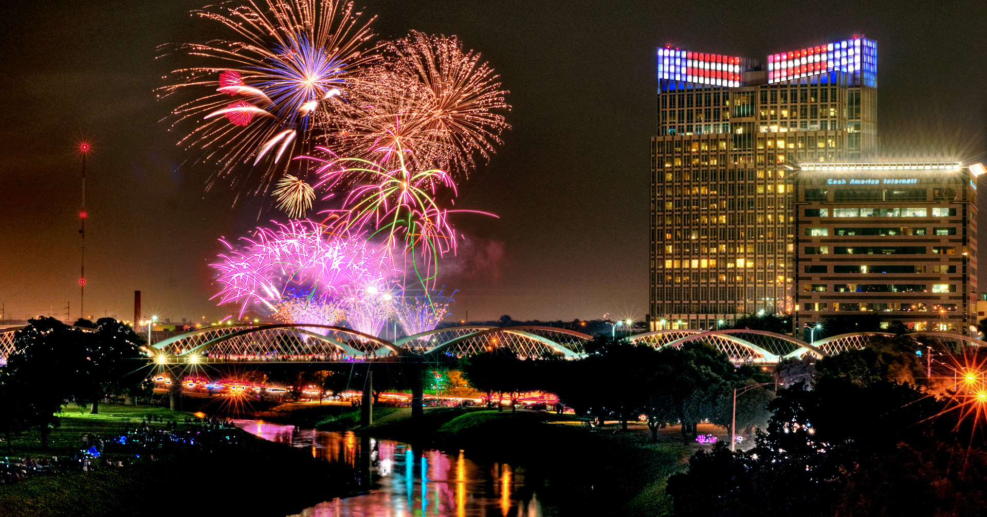 2020 Fort Worth's Fourth — Fireworks Only